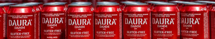 Daura Damm gluten-free beers